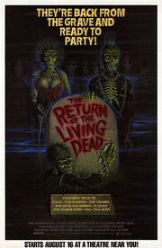 1985 - The Return of the Living Dead Movie Poster