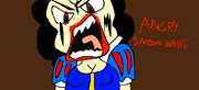 Angry Snow White