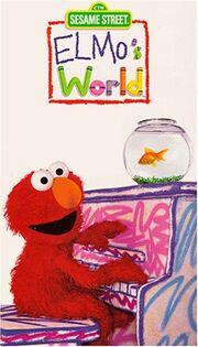 Elmos World VHS