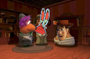 Krabs and gobo meets woody