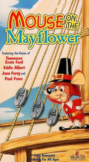 Mouse on the mayflower mgm ua vhs