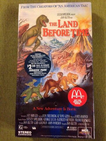 File:The Land Before Time 10th Anniversary VHS.jpg