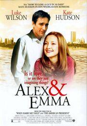 2003 - Alex & Emma Movie Poster -2
