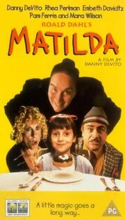 Matilda uk vhs