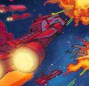Republic light assault cruiser