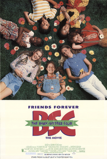 The Baby Sitters Club (1995) Poster