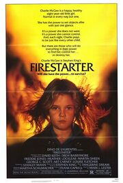1984 - Firestarter Movie Poster