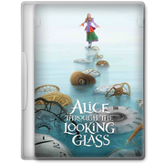Alice through the looking glass 2016 dvd icon by a jaded smithy-d9r3ufo
