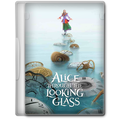 File:Alice through the looking glass 2016 dvd icon by a jaded smithy-d9r3ufo.png