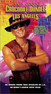 Crocodile Dundee in Los Angeles VHS