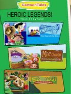 CartoonTales Heroic Legends