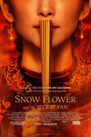 File:2011 - Snow Flower and the Secret Fan Movie Poster.jpg