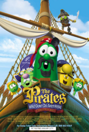 The Pirates Who Don't Do Anything 2008 Poster