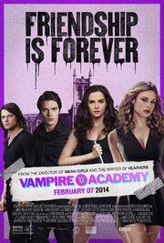 2014 - Vampire Academy Movie Poster