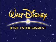Walt Disney Home Entertainment Blue Logo