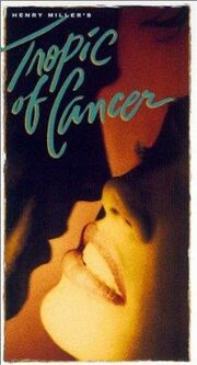 Tropic of Cancer 1993 VHS (Front Cover)