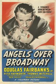 1940 - Angels Over Broadway Movie Poster