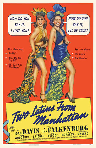 File:1941 - Two Latins from Manhattan Movie Poster.jpg