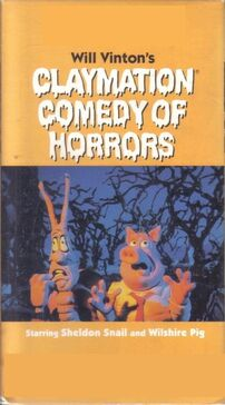 Claymation comedy of horrors vhs