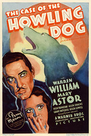 1934 - The Case of the Howling Dog Movie Poster