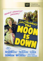 1943 - The Moon is Down DVD Cover (2013 Fox Cinema Archives)