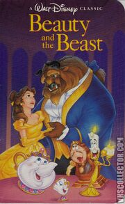 Beauty and the Beast -VHS-front NEW