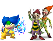 Ludwiga, Sly and Gobbo
