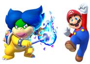 Ludwiga and Mario