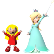 Mary and Rosalina