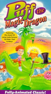 Puff the Magic Dragon VHS