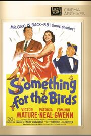1952 - Something for the Birds DVD Cover (2013 Fox Cinema Archives)