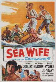 1957 - Sea Wife Movie Poster