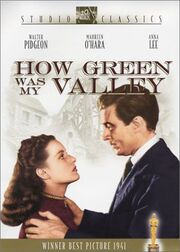 1941 - How Green was My Valley DVD Cover (2002 Fox Studio Classics)