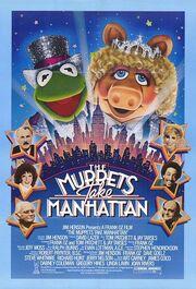 1984 - The Muppets Take Manhattan Movie Poster