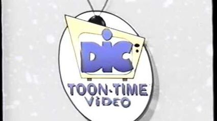 DIC – Toon Time Video (1998) Company Logo (VHS Capture)