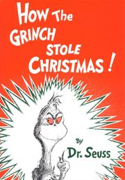 How the Grinch Stole Christmas cover1