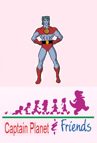 File:Captain Planet & Friends Poster.png