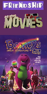 Friendship At The Movies - Barney's Great Adventure The Movie