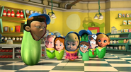 Sheen and the baseball kids