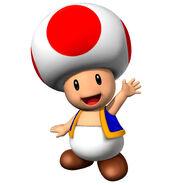 Toad Mario Party 7