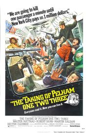 1974 - The Taking of Pelham One Two Three Movie Poster