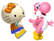 Mimmy and Pink yoshi