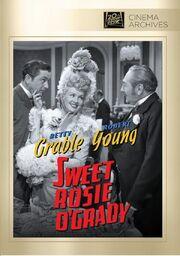 1943 - Sweet Rosie O'Grady DVD Cover (2012 Fox Cinema Archives)