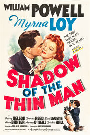 1941 - Shadow of the Thin Man Movie Poster