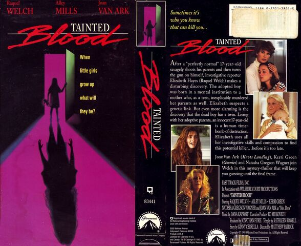 File:1993 - Tainted Blood VHS Cover.jpg