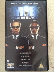 Men In Black UK VHS