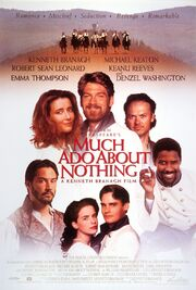 1993 - Much Ado About Nothing Movie Poster