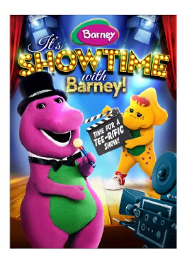 File:It's Showtime with Barney DVD.png