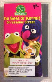 The Best of Kermit on Sesame Street VHS