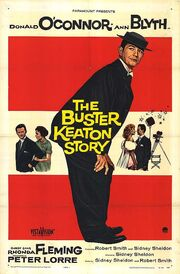 1957 - The Buster Keaton Story Movie Poster